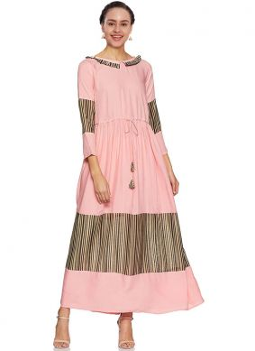 Abstract Print Festival Party Wear Kurti