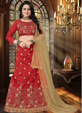 Affectionate Art Silk Lehenga Choli