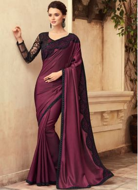 Affectionate Resham Designer Traditional Saree