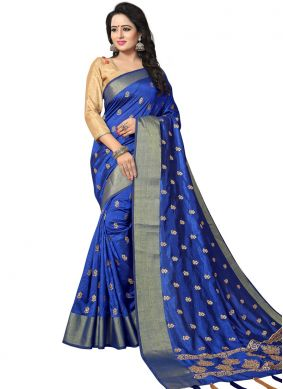 Amusing Art Silk Traditional Designer Saree