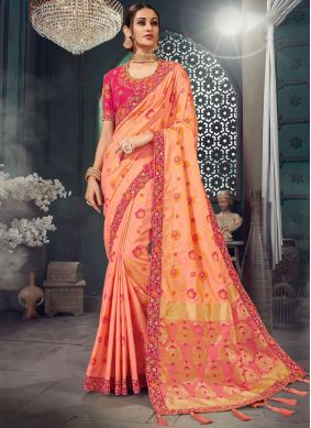 Amusing Lace Wedding Classic Saree
