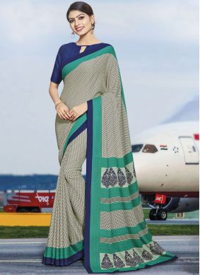 Angelic Polly Cotton Multi Colour Casual Saree