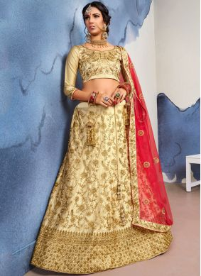 Aristocratic Embroidered Designer Lehenga Choli