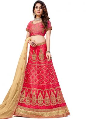 Aristocratic Zari Trendy Lehenga Choli