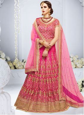Art Silk Handwork Lehenga Choli