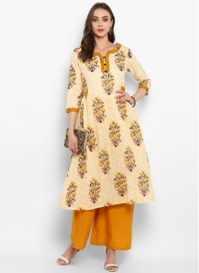 Astonishing Plain Cotton Casual Kurti