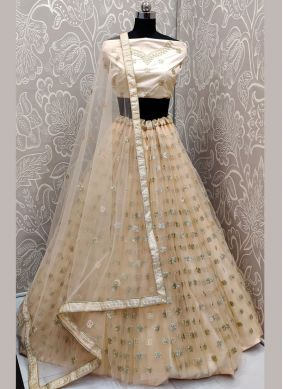Awesome Embroidered Festival Trendy A Line Lehenga Choli