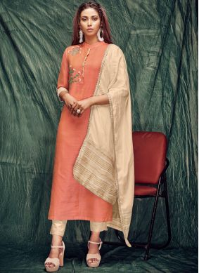 Banarasi Silk Party Casual Kurti