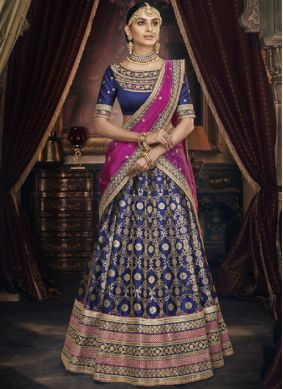 Beckoning Embroidered Wedding Trendy A Line Lehenga Choli