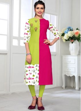 Beckoning Multi Colour Casual Kurti