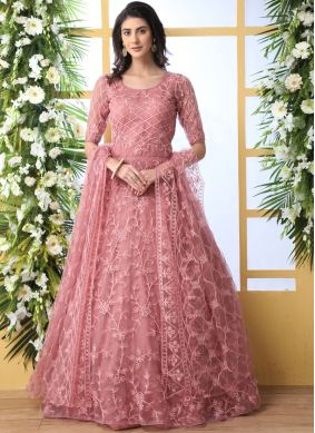 Best Rose Pink Designer Gown