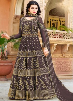 Black Color Designer Lehenga Choli