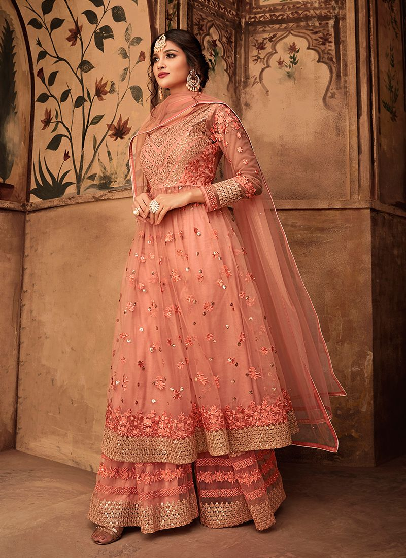 Blooming Embroidered Bridal Designer Pakistani Suit