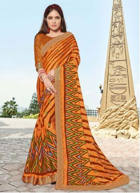 Brasso Multi Colour Classic Saree