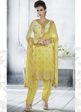 Breathtaking Georgette Designer Salwar Suit
