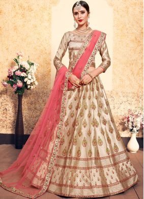Brown Stone Sangeet Trendy Lehenga Choli