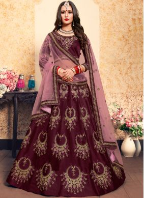 Brown Wedding Trendy Lehenga Choli