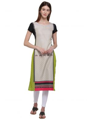 Multi Color Kurti For Casual