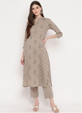 Beige Casual Kurti For Casual