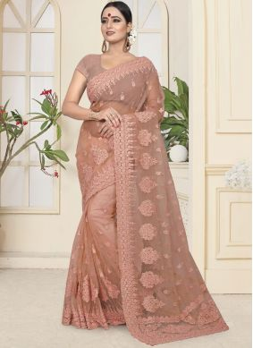 Celestial Embroidered Designer Traditional Saree