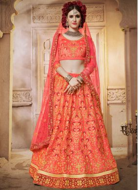 Celestial Hot Pink Wedding Designer Lehenga Choli