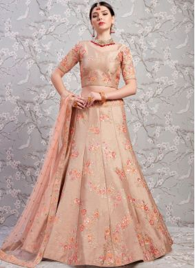 Chic Banglori Silk Wedding Lehenga Choli
