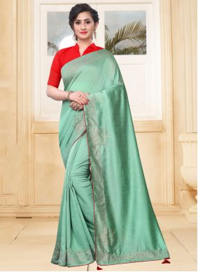 Classic Green Saree For Party