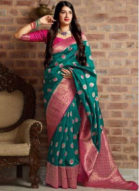 Competent Woven Designer Traditional Saree