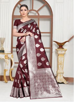 Contemporary Saree For Festival