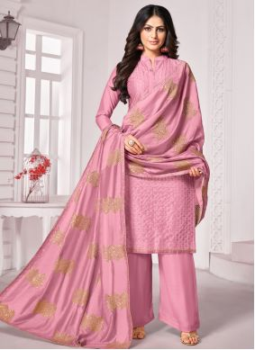 Cotton Pink Trendy Salwar Kameez