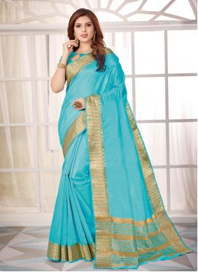 Cotton Silk Fancy Classic Saree