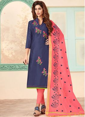 Cute Churidar Designer Suit For Festival