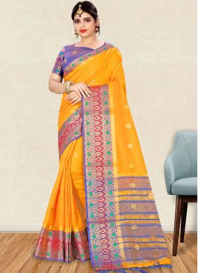Dashing Art Silk Traditional Designer Saree