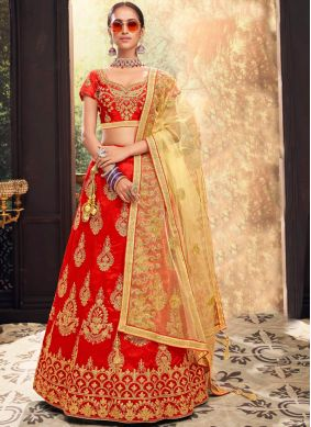 Dazzling Lehenga Choli For Sangeet