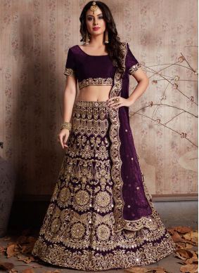 Desirable Embroidered Work Lehenga Choli
