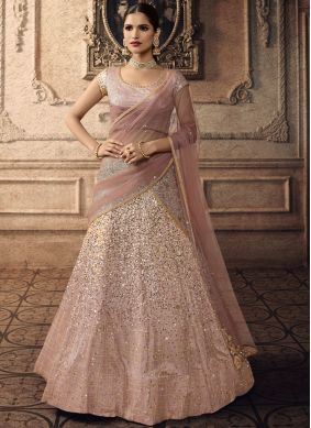 Desirable Pink Lehenga Choli