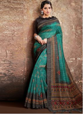 Rama Digital Printed Classic Saree