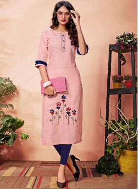 Dignified Cotton Party Wear Kurti