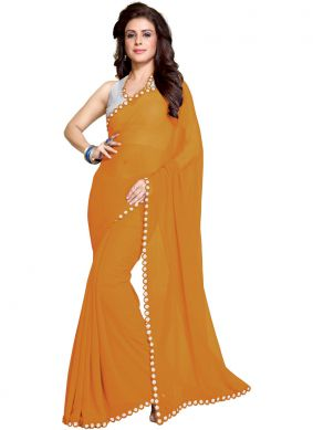 Dignified Mirror Casual Saree