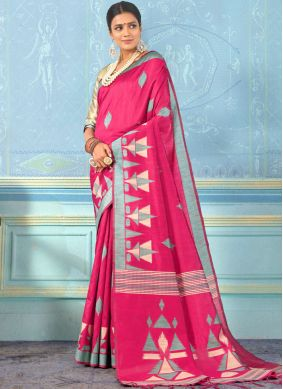 Dignified Rani Party Designer Traditional Saree