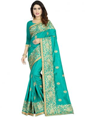 Distinctively Classic Designer Saree For Ceremonial