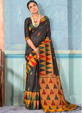 Distinctively Designer Traditional Saree For Party