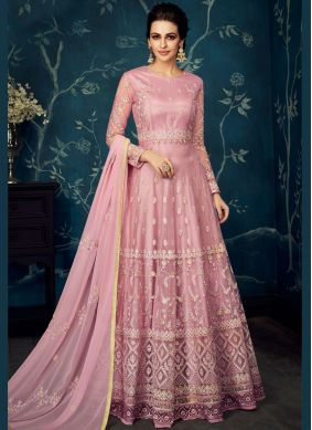 Divine Embroidered Anarkali Salwar Kameez