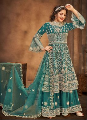 Rama Embroidered Ceremonial Designer Pakistani Salwar Suit