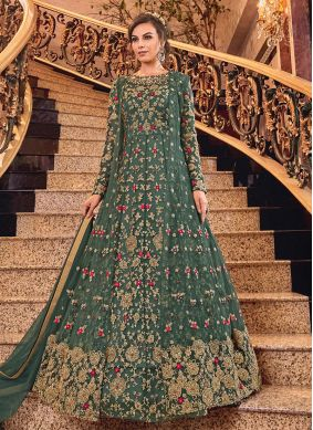 Embroidered Reception Salwar Suit