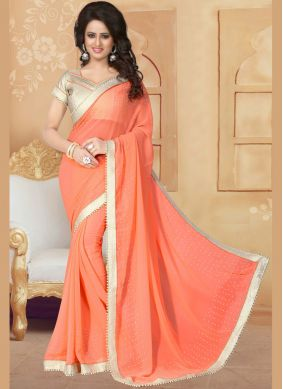 Energetic Faux Georgette Classic Saree