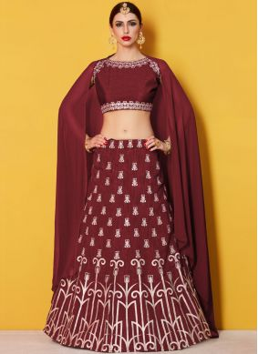 Energetic Lace Work Lehenga Choli