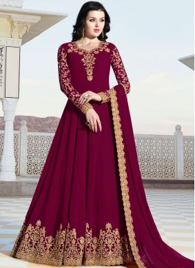 Epitome Floor Length Anarkali Suit For Festival