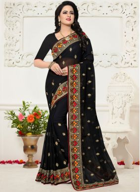 Exciting Georgette Saree