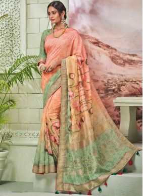 Fancy Fancy Fabric Traditional Designer Saree in Multi Colour